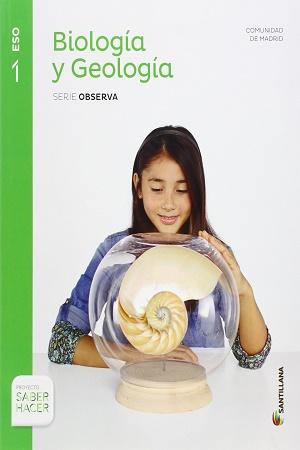 Biologia y Geologia 1 ESO Santillana